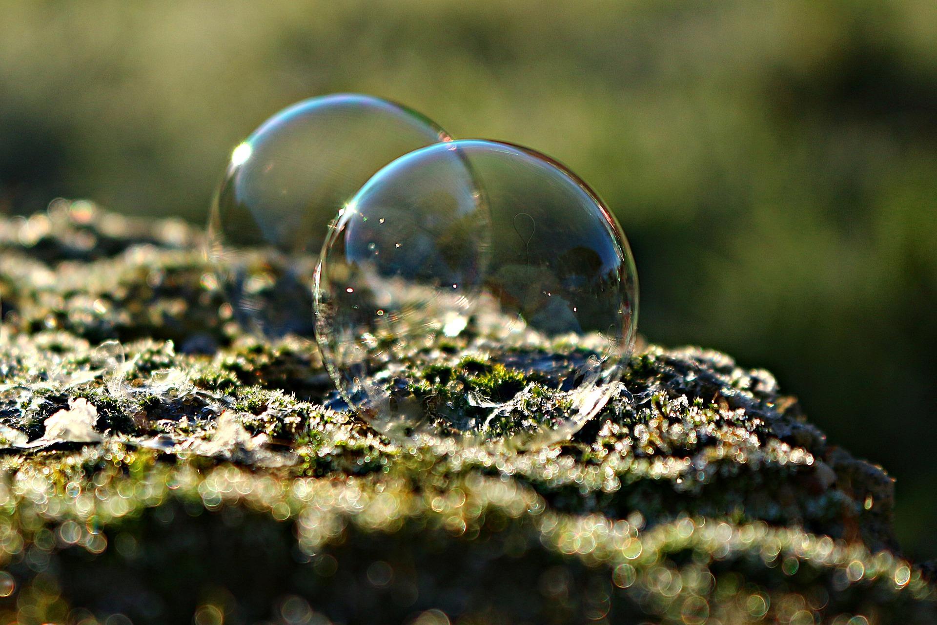 zeep bubbel